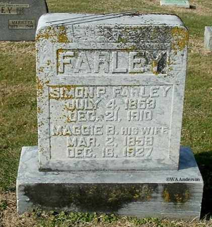FARLEY, SIMON PETER - Gallia County, Ohio | SIMON PETER FARLEY - Ohio Gravestone Photos