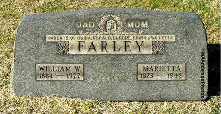 FARLEY, WILLIAM W - Gallia County, Ohio | WILLIAM W FARLEY - Ohio Gravestone Photos