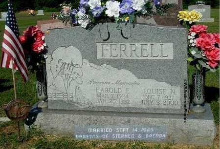 FERRELL, HAROLD E - Gallia County, Ohio | HAROLD E FERRELL - Ohio Gravestone Photos