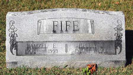 FIFE, BAMZEL E. - Gallia County, Ohio | BAMZEL E. FIFE - Ohio Gravestone Photos