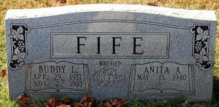 FIFE, ANITA A. - Gallia County, Ohio | ANITA A. FIFE - Ohio Gravestone Photos