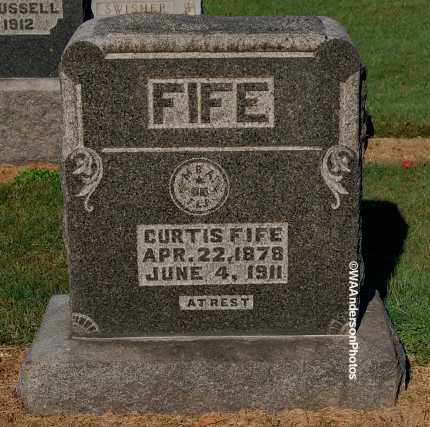 FIFE, CURTIS - Gallia County, Ohio | CURTIS FIFE - Ohio Gravestone Photos