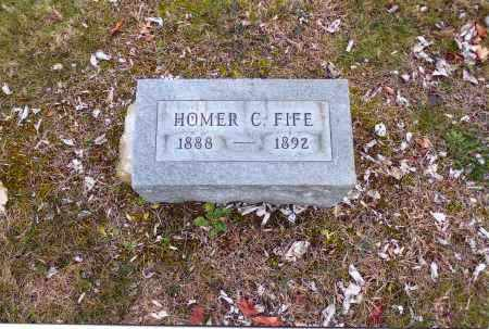 FIFE, HOMER CLAYTON - Gallia County, Ohio   HOMER CLAYTON FIFE - Ohio Gravestone Photos