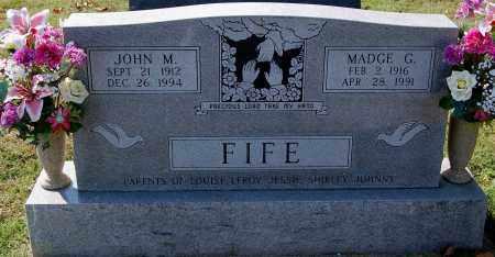 FIFE, MADGE G. - Gallia County, Ohio | MADGE G. FIFE - Ohio Gravestone Photos