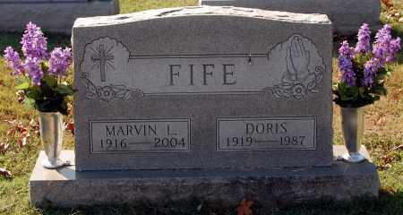 FIFE, DORIS - Gallia County, Ohio | DORIS FIFE - Ohio Gravestone Photos