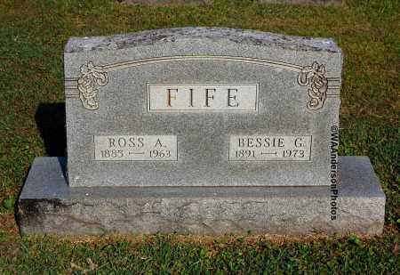 FIFE, ROSS A - Gallia County, Ohio | ROSS A FIFE - Ohio Gravestone Photos