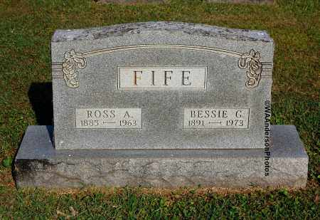 FIFE, BESSIE G - Gallia County, Ohio | BESSIE G FIFE - Ohio Gravestone Photos