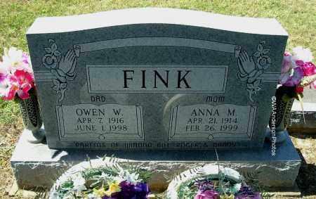 FINK, OWEN W - Gallia County, Ohio   OWEN W FINK - Ohio Gravestone Photos