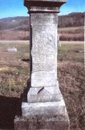 SALSER FIRST, CLARA B. - Gallia County, Ohio | CLARA B. SALSER FIRST - Ohio Gravestone Photos
