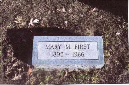 FIRST, MARY M. - Gallia County, Ohio | MARY M. FIRST - Ohio Gravestone Photos