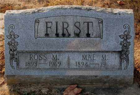 FIRST, MAE M. - Gallia County, Ohio   MAE M. FIRST - Ohio Gravestone Photos