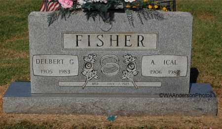 FISHER, A ICAL - Gallia County, Ohio | A ICAL FISHER - Ohio Gravestone Photos