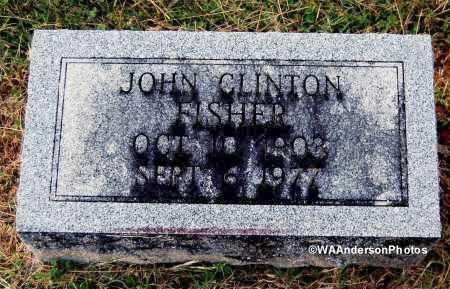 FISHER, JOHN CLINTON - Gallia County, Ohio | JOHN CLINTON FISHER - Ohio Gravestone Photos