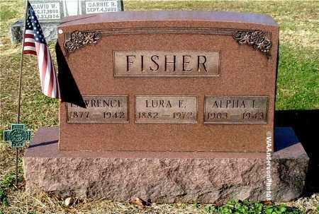FISHER, LAWRENCE - Gallia County, Ohio   LAWRENCE FISHER - Ohio Gravestone Photos