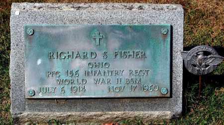FISHER, RICHARD S. - Gallia County, Ohio | RICHARD S. FISHER - Ohio Gravestone Photos