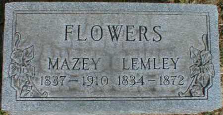 FLOWERS, MAZEY - Gallia County, Ohio | MAZEY FLOWERS - Ohio Gravestone Photos