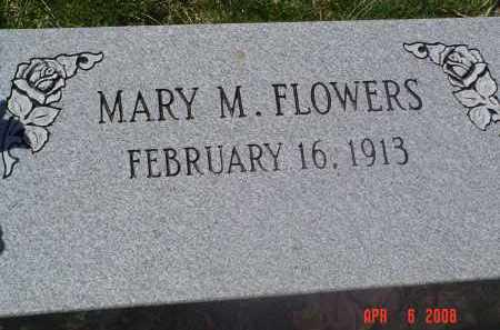 FLOWERS, MARY - Gallia County, Ohio   MARY FLOWERS - Ohio Gravestone Photos