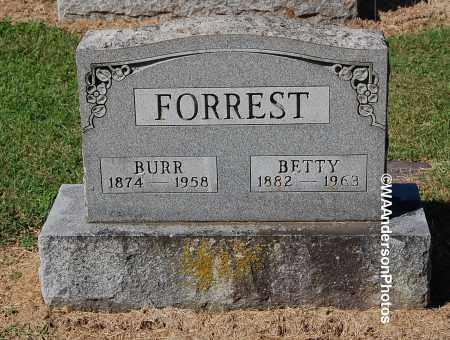 FORREST, BETTY - Gallia County, Ohio | BETTY FORREST - Ohio Gravestone Photos