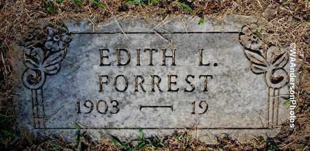 FORREST, EDITH L - Gallia County, Ohio | EDITH L FORREST - Ohio Gravestone Photos