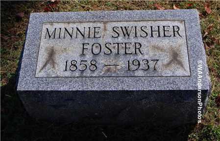 SWISHER FOSTER, MINNIE - Gallia County, Ohio | MINNIE SWISHER FOSTER - Ohio Gravestone Photos