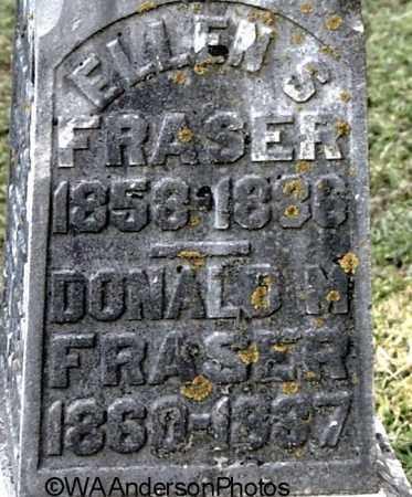 FRASER, DONALD M (CLOSE-UP) - Gallia County, Ohio | DONALD M (CLOSE-UP) FRASER - Ohio Gravestone Photos
