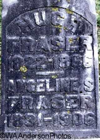 FRASER, ANGELINE S (CLOSE-UP) - Gallia County, Ohio | ANGELINE S (CLOSE-UP) FRASER - Ohio Gravestone Photos