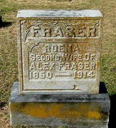 KING FRASER, ROENA FRANCIS - Gallia County, Ohio | ROENA FRANCIS KING FRASER - Ohio Gravestone Photos