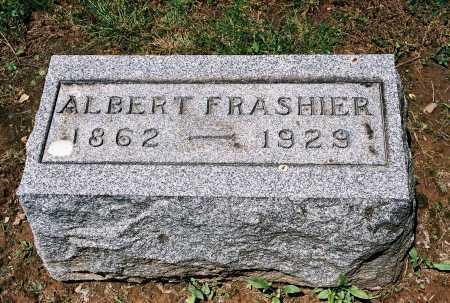 FRASHIER, ALBERT - Gallia County, Ohio   ALBERT FRASHIER - Ohio Gravestone Photos