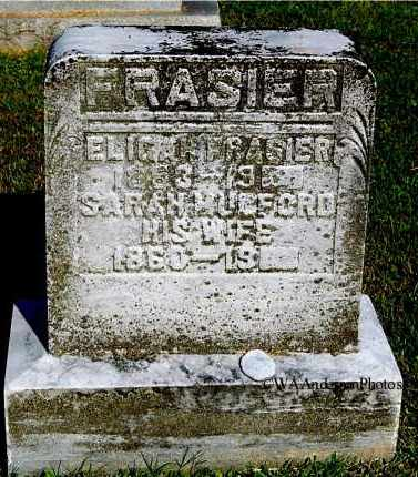 FRASIER, SARAH - Gallia County, Ohio | SARAH FRASIER - Ohio Gravestone Photos