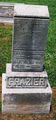 FRAZIER, FRANK - Gallia County, Ohio | FRANK FRAZIER - Ohio Gravestone Photos
