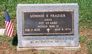 FRAZIER, LONNIE E. - Gallia County, Ohio | LONNIE E. FRAZIER - Ohio Gravestone Photos