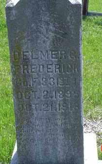 FREDERICK, DELMER G. - Gallia County, Ohio   DELMER G. FREDERICK - Ohio Gravestone Photos