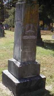 FREDERICK, HANNAH - Gallia County, Ohio | HANNAH FREDERICK - Ohio Gravestone Photos