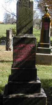 FREDERICK, MARY - Gallia County, Ohio | MARY FREDERICK - Ohio Gravestone Photos