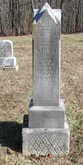 FREDERICK, MILA A. - Gallia County, Ohio   MILA A. FREDERICK - Ohio Gravestone Photos