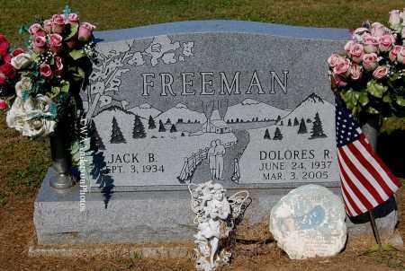FREEMAN, DOLORES R - Gallia County, Ohio   DOLORES R FREEMAN - Ohio Gravestone Photos