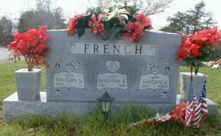 FRENCH, VAUGHN - Gallia County, Ohio | VAUGHN FRENCH - Ohio Gravestone Photos