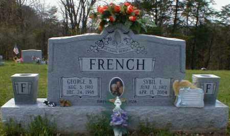 DENT FRENCH, SYBIL - Gallia County, Ohio | SYBIL DENT FRENCH - Ohio Gravestone Photos