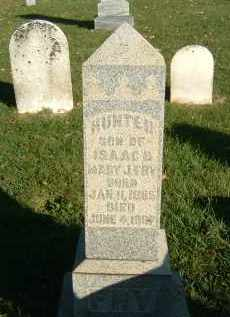 FRY, HUNTER - Gallia County, Ohio | HUNTER FRY - Ohio Gravestone Photos