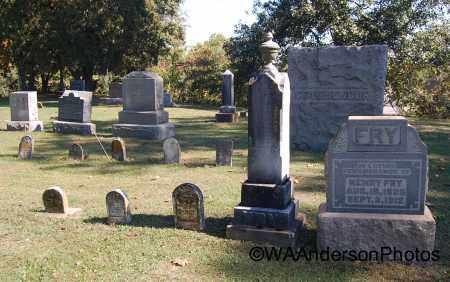FRY, OVERVIEW - Gallia County, Ohio | OVERVIEW FRY - Ohio Gravestone Photos