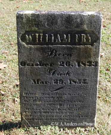 FRY, WILLIAM - Gallia County, Ohio | WILLIAM FRY - Ohio Gravestone Photos