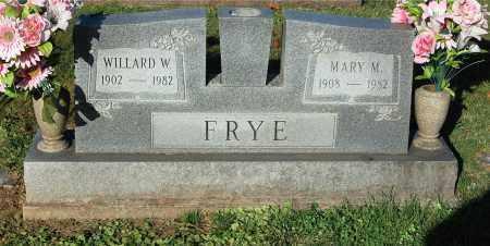FRYE, WILLARD W. - Gallia County, Ohio | WILLARD W. FRYE - Ohio Gravestone Photos