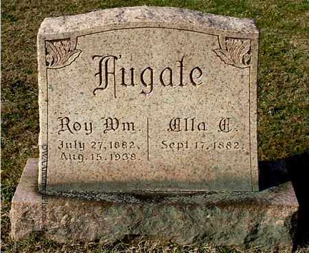 FUGATE, ELLA E - Gallia County, Ohio | ELLA E FUGATE - Ohio Gravestone Photos