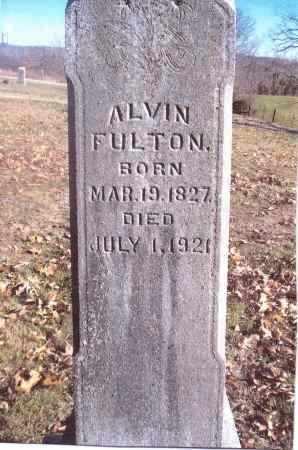 FULTON, ALVIN - Gallia County, Ohio   ALVIN FULTON - Ohio Gravestone Photos