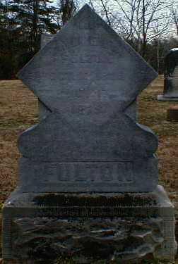FULTON, ANDREW - Gallia County, Ohio   ANDREW FULTON - Ohio Gravestone Photos
