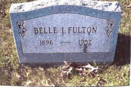 FULTON, BELLE I. - Gallia County, Ohio   BELLE I. FULTON - Ohio Gravestone Photos