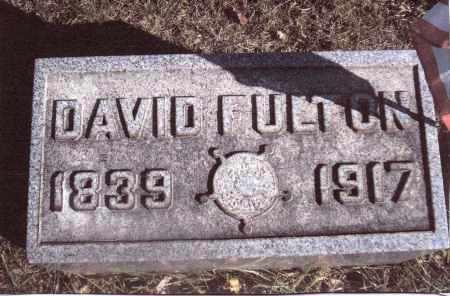 FULTON, DAVID - Gallia County, Ohio | DAVID FULTON - Ohio Gravestone Photos