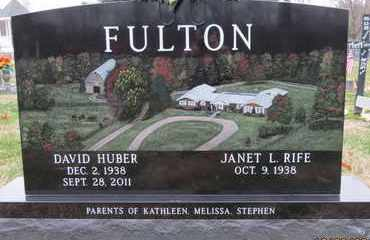 FULTON, JANET L - Gallia County, Ohio | JANET L FULTON - Ohio Gravestone Photos
