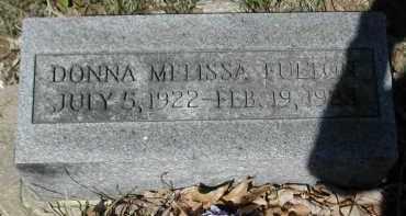 FULTON, DONNA - Gallia County, Ohio | DONNA FULTON - Ohio Gravestone Photos