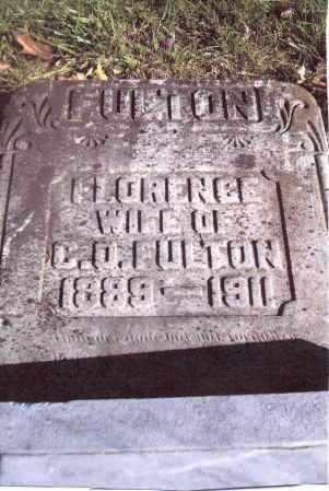 FULTON, FLORENCE - Gallia County, Ohio | FLORENCE FULTON - Ohio Gravestone Photos